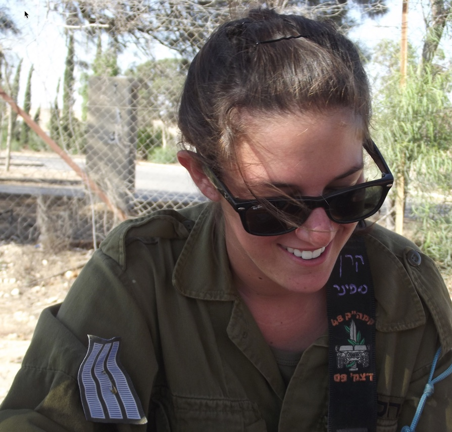 Meeting My Daughter in the IDF