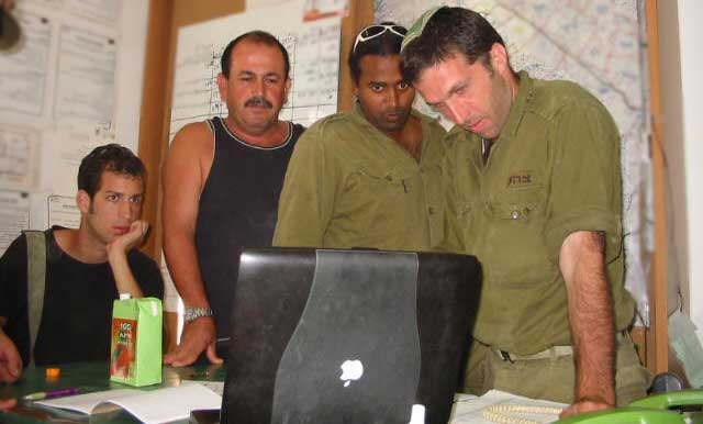 Taking care of the IDF reservist…..